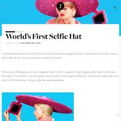 World's First Selfie Hat