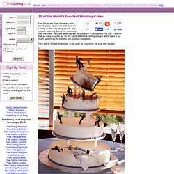 30 of the World's Greatest Wedding Cakes