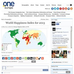 World Happiness Index for 2013 - OneEurope