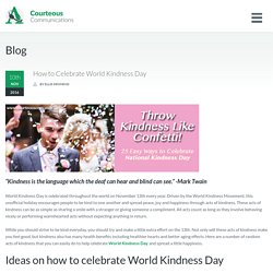 World Kindness Day