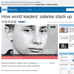 How world leaders' salaries stack up - Mar. 10, 2015 - CNN Money
