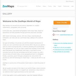 World of Maps: ZeeMaps