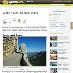 World's Most Scenic Roads