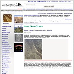 Mystic Places - Nazca (Nasca) Lines