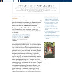 World Myths and Legends
