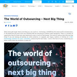 The World of Outsourcing - Next Big Thing