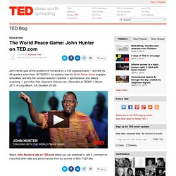 The World Peace Game: John Hunter on TED