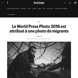 Le World Press Photo 2016 est attribué à une photo de migrants