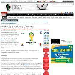 World Cup 2014: Group C Preview
