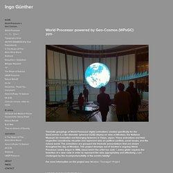 World Processor x Geo-Cosmos