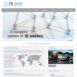 Cg World Group - The Professional CG Network