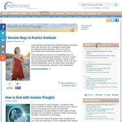 World of Psychology - Psychology and mental health blog