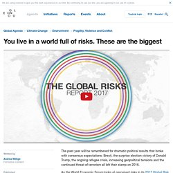 You live in a world full of risks. These are the biggest