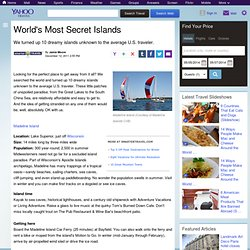 Worlds Most Secret Islands - StumbleUpon