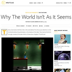 Why The World Isn't As It Seems