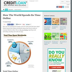 How The World Spends Its Time Online -
