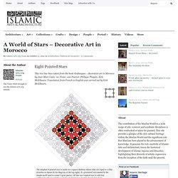 A World of Stars - Decorative Art in Morocco