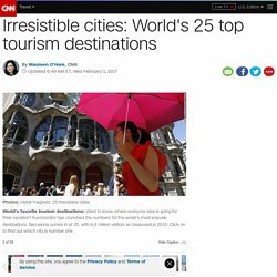 World's 25 top tourism destinations