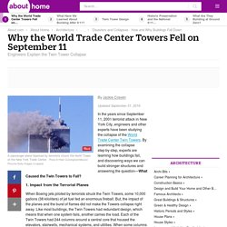 Why the World Trade Center Twin Towers Fell