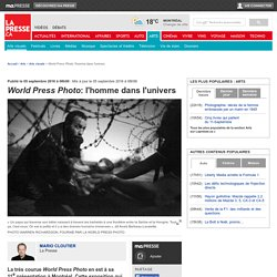 World Press Photo: l'homme dans l'univers