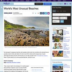 s Most Unusual Beaches