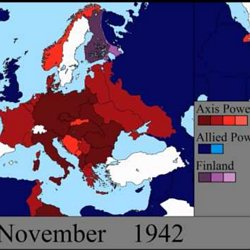 ▶ World War II in Europe: Every Day