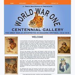 World War one as interpreted in magazine writings