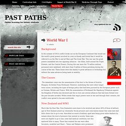World War I « Past Paths