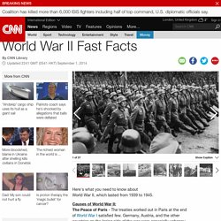 World War II Fast Facts