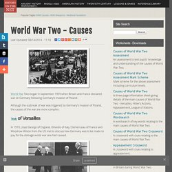 World War Two - Causes