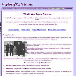 World War Two - Main Causes