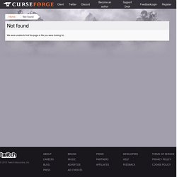 World of Warcraft Addons - WoW Addons - Curse.com