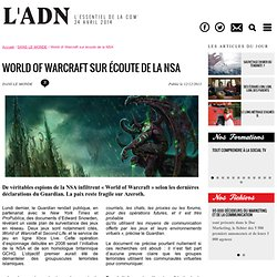 World of Warcraft sur écoute de la NSA