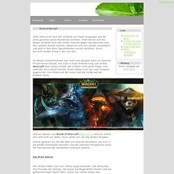 World of Warcraft - gold mmo - myblog.de