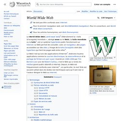 World Wide Web - Wikipédia