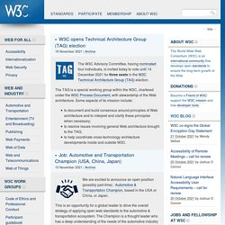 World Wide Web Consortium - Web Standards