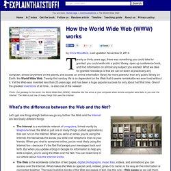 How the Web works: Explain that Stuff!