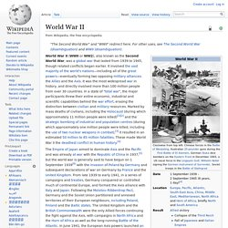 World War II - Wikipedia