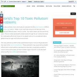 World's Top 10 Worst Toxic Pollution Problems