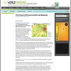 The Future of Environmental Law Mapping
