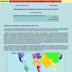 Worldmapper, des centaines de cartes du monde sur Internet