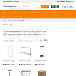 Worlds Away Furniture Accessories - Great Furniture Deal