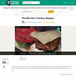 World's Best Turkey Burger Recipe - Food.com - 247934