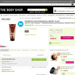Spa of the World™ Moroccan Rhassoul Body Clay