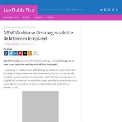 NASA Worldview. Des images satellite de la terre en temps reel