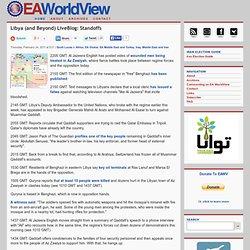 Libya (and Beyond) LiveBlog:Standoffs