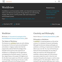 Worldview - an overview