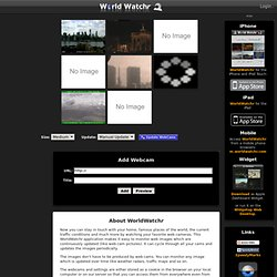 WorldWatchr - Your Collection of Webcams