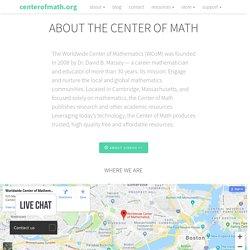 Worldwide Center of Mathematics