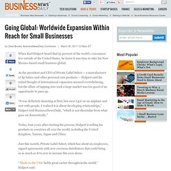 Global Expansion for Small Biz